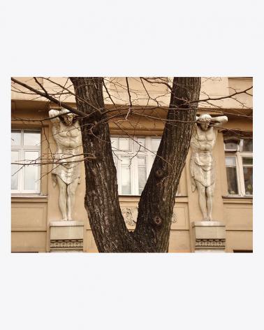 Atlantes Moscow Fine Art Print
