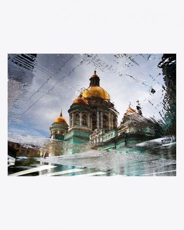 Kathedrale unserer Kindheit Moskau Foto Kunstdruck