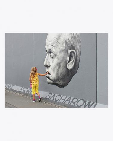 Berliner Mauer Foto Kunstdruck