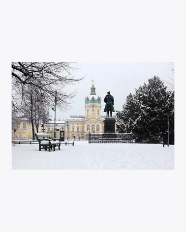 Pałac Charlottenburg Wydruk artystyczny Berlin