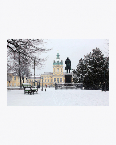 Palacio de Charlottenburg Impresión Fine Art Berlín