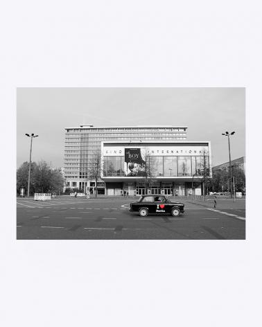 Kino International Berlin Fine Art Print
