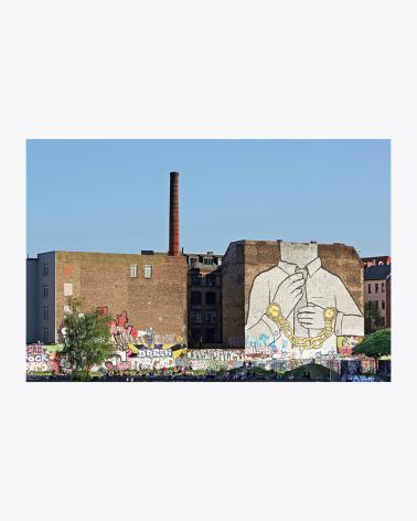 Cuvry-Graffiti von Blu Foto Kunstdruck Berlin