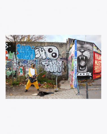 You are crazy my child! Berlin Fine Art Print