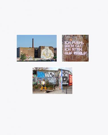 I Love Berlin Fine Art Cards, 3 Set