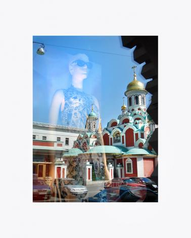 Nikolskaya Moscow Fine Art Print