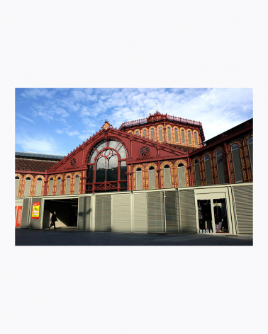 Mercat de Sant Antoni Barcelona Fine Art Print
