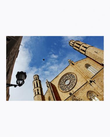 Santa Maria del Mar Barcelona Fine Art Print