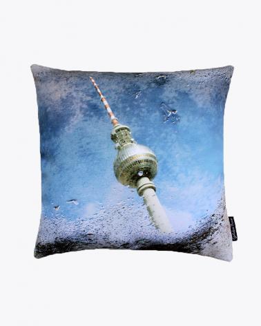 Alexanderplatz Berlin Designer Cushion Cover