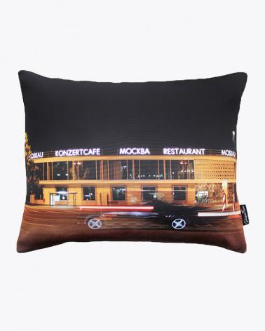 CAFÉ MOSKAU Berlin Designer Cushion Cover