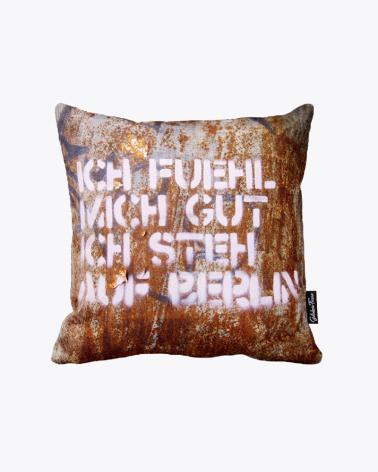 Ich stehe auf Berlin Designer Kissenbezug