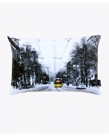 Oranienburger Strasse Berlin Designer Cushion Cover
