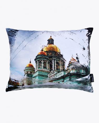 Kathedrale unserer Kindheit Moskau Designer Kissenbezug