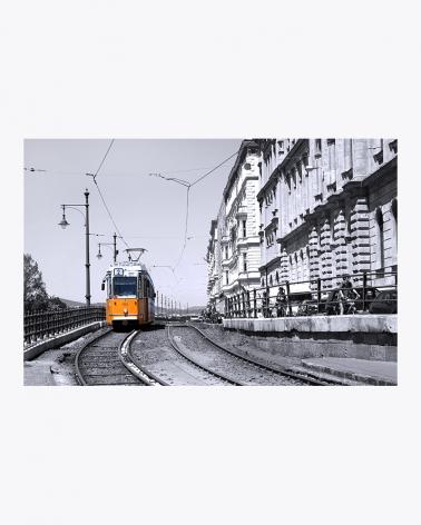 Budapest Tram Fine Art Print