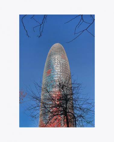 Torre Glòries Barcelona Fine Art Print