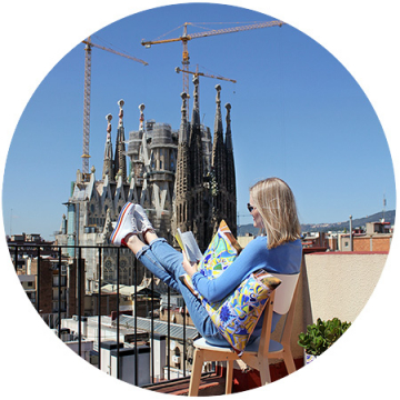 BARCELONA Collection of Designer Cushion Covers by Golenkova-Ferrero